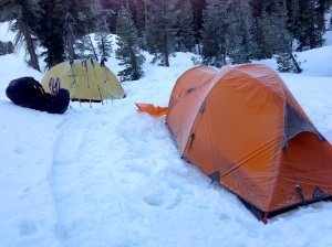 Frosty Tents